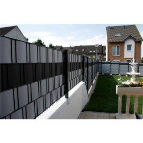 Bild: PVC Sichtschutzstreifen für Doppelstabmatten