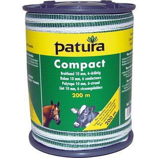 PATURA Compact Breitband 10 mm, 400 m Rolle