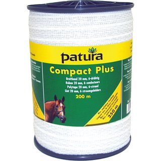 PATURA Compact Plus Breitband 20 mm, 200 m Rolle