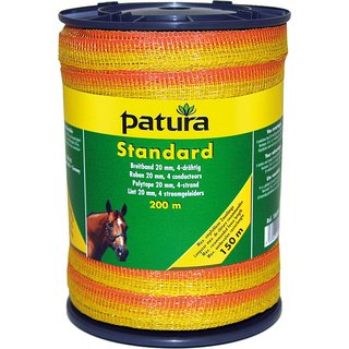 PATURA Standard Breitband 20 mm, 200 m Rolle