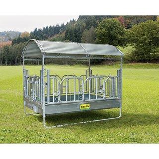 patura gro ballenraufe mit schwedenfressgittern und dach. Black Bedroom Furniture Sets. Home Design Ideas