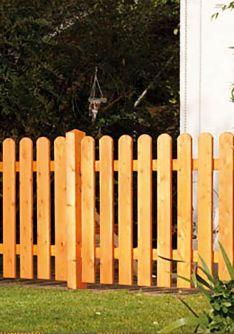 Holz-Zaun in vielen Variationen | zaun-shop.de
