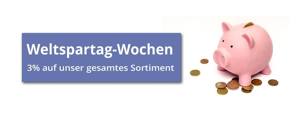 Zaun-Shop.de - Weltspartag-Wochen Rabatt sichern und sparen